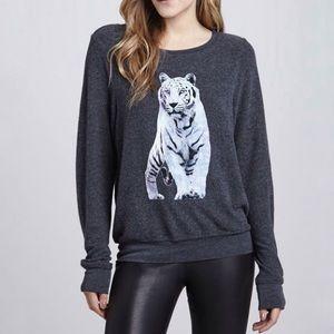 Wildfox Shine Bright Like A Tiger Sweatshirt Small